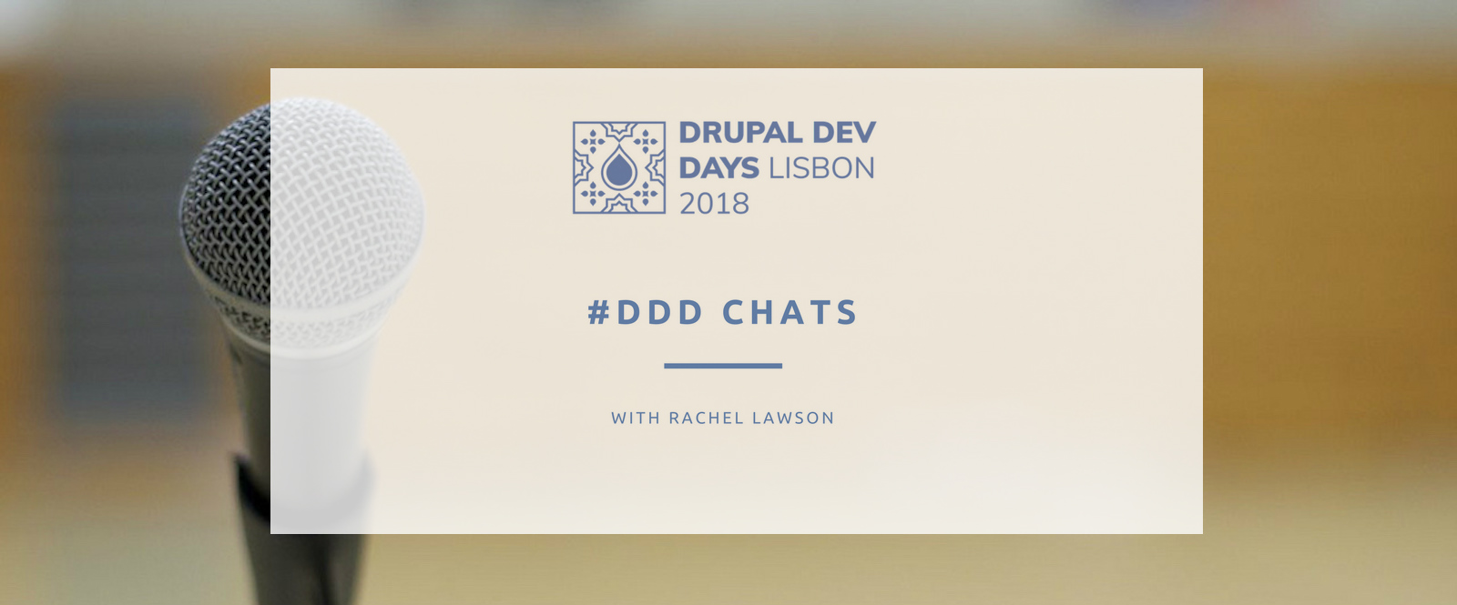 ddd chat with Rachel Lawson